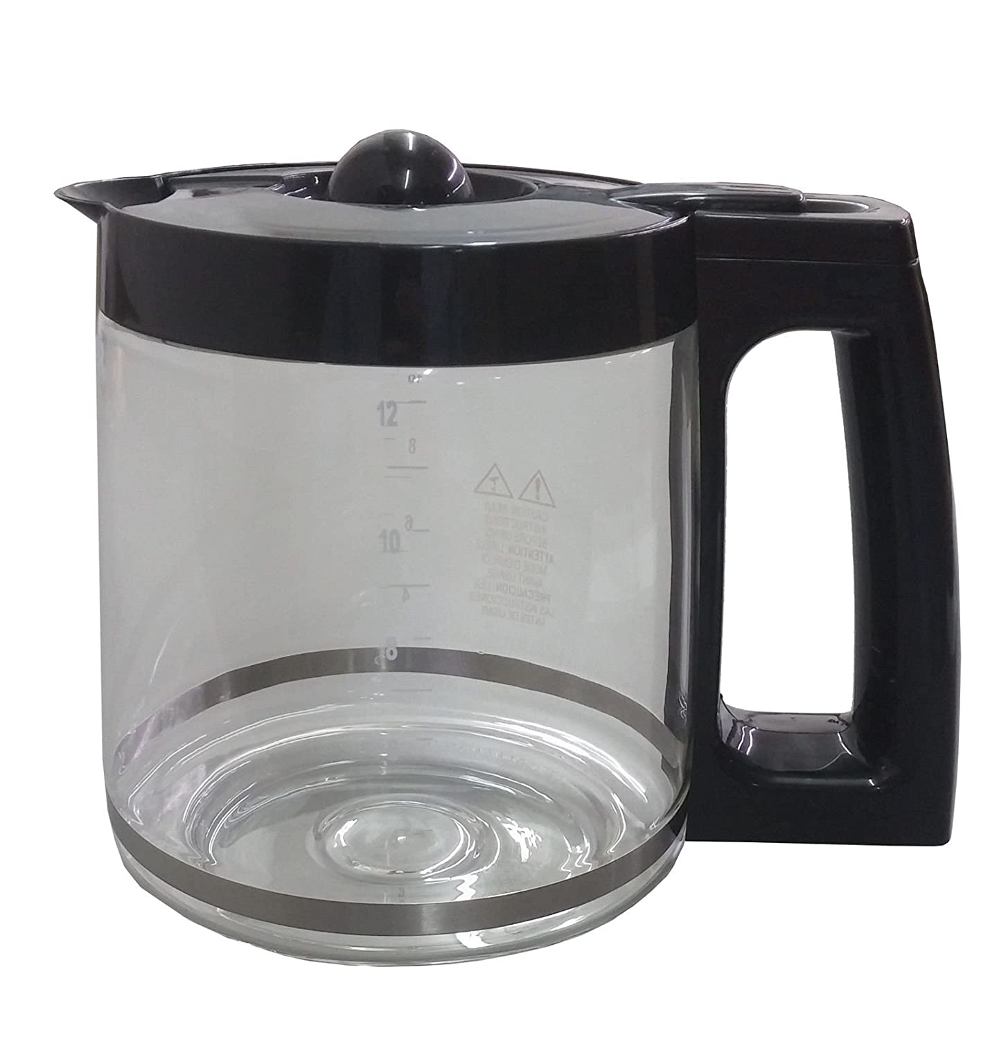 KHY Replacement 12 Cup Capacity Carafe FlexBrew Two Way Coffeemaker FOR Hamilton Beach 49983 49976 49980