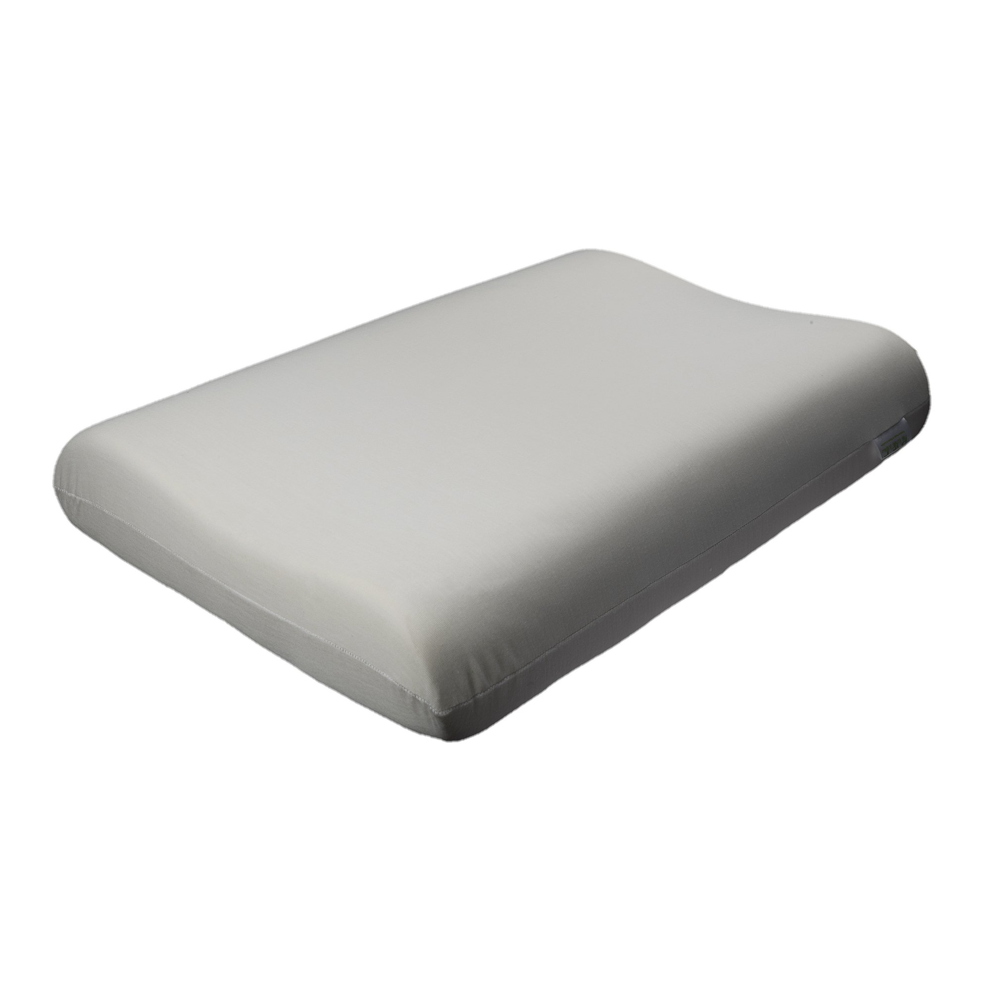 The White Willow Contour Visco Memory Foam Cushion For Neck Pain Relief Light Weight Cervical Support Orthopedic Bed Pillow For Sleeping Side or Back 20'' x 12'' x 4'' White (3), Free Express Shipping by The White Willow (Image #1)