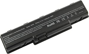 AC Doctor INC Laptop Battery for Gateway NV Series, Battery Part Numbers: AS09A31, AS09A51, AS09A61, AS09A71, 5200mAh/11.1V/6-Cell