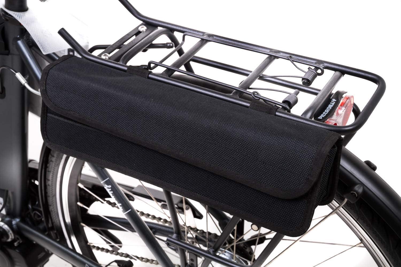 Fahrrad Akku Tasche Ersatzakkutasche Stabakku Gepäckträgertasche Klettverschluss