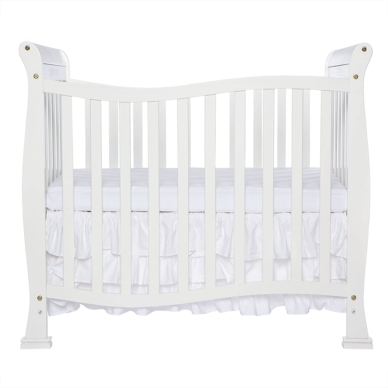 Dream On Me Violet 4 in 1 Convertible Mini Crib, White Dream On Me (DREKK) 631-W