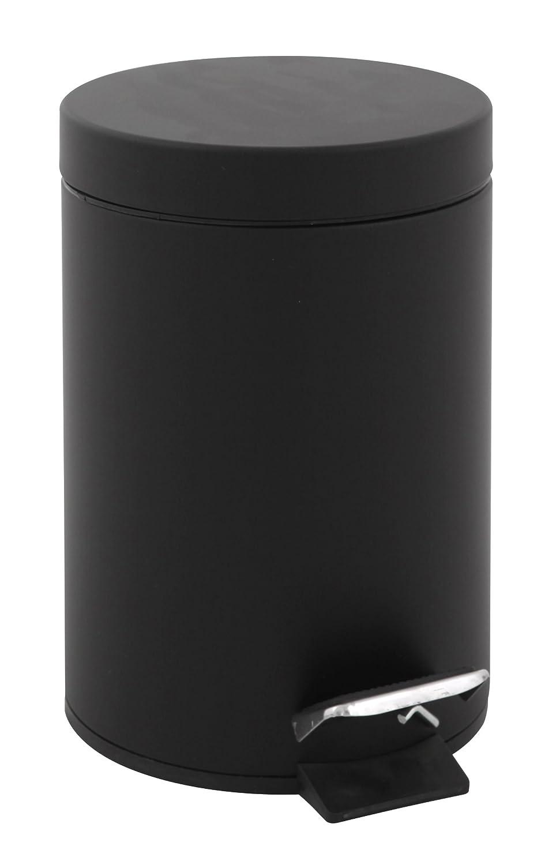 Papelera de pedal V-Part VB 222205 color negro 5 L