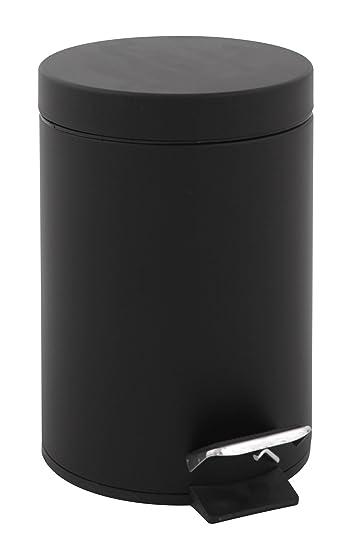 Tretmülleimer v part tretmülleimer 5 liter schwarz amazon de küche haushalt