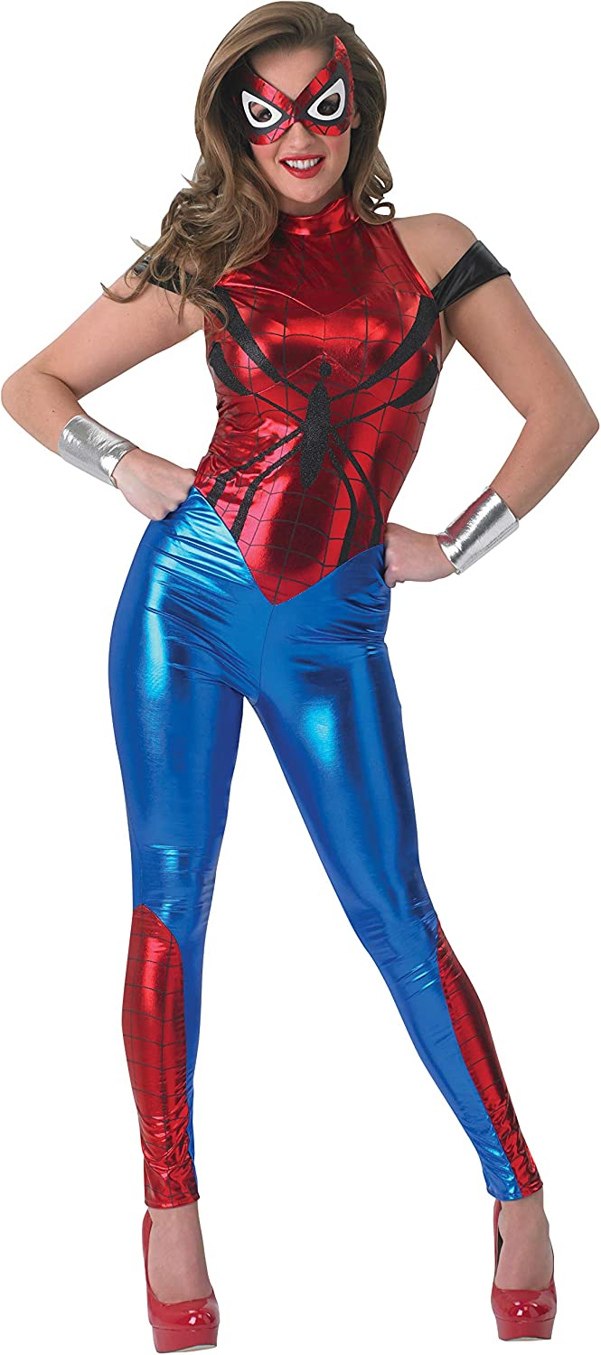 Secret Wishes Marvel Universe Adult Spider-Girl Costume, Small