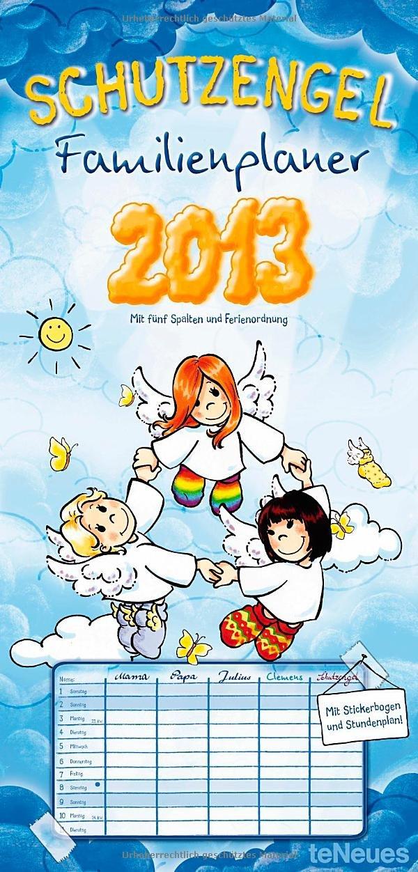 Schutzengel Familienplaner 2013