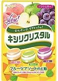 春日井製菓 キシリクリスタル フルーツアソートのど飴 67g×6袋