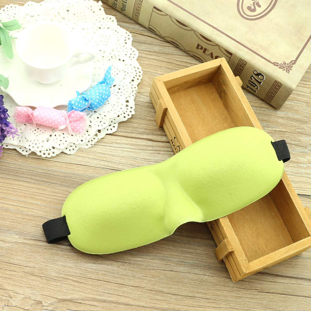 Saying Luxury 3D Eye Mask Shade Cover Rest Sleep Eyepatch Blindfold Shield Travel Sleeping, Sleep Anywhere, Anytime (F06)