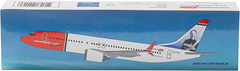 1:200 PPC Holland Norwegian Boeing 737-8 Max