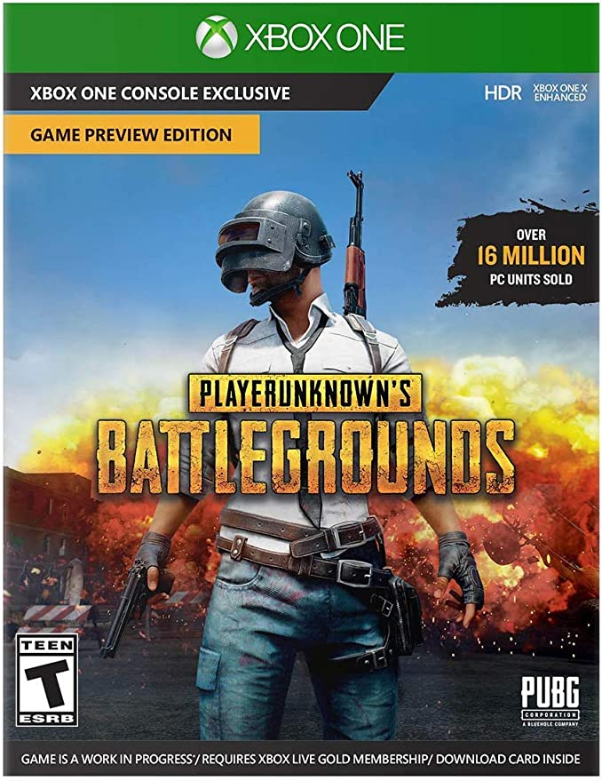 Microsoft Xbox One X 1 TB PlayerunKNOWNS BATTLEGROUNDS Bundle + ...