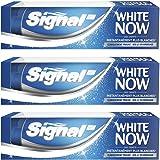 Signal Dentifrice Blancheur White Now 75ml - Lot de 3