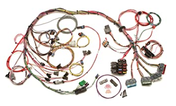 painless wiring harness painless image wiring diagram amazon com painless wiring 60502 fuel injection wiring harness on painless wiring harness
