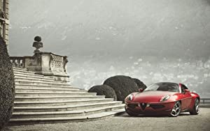 Alfa Romeo Disco Volante Touring Superleggera 11X17 Photo Poster Banner
