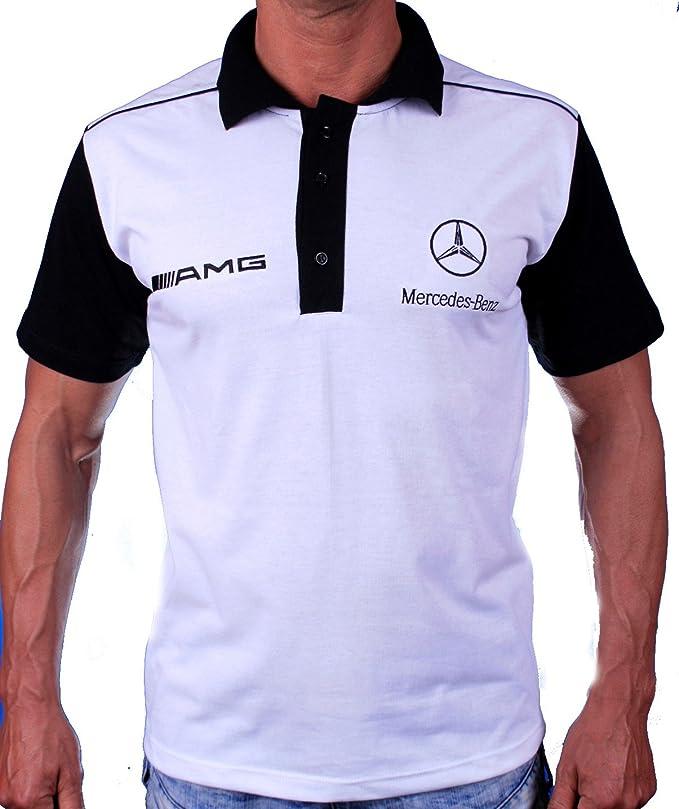 Mercedes AMG Benz - Polo para Camiseta, diseño con Logotipo ...