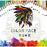Libro da Colorare per Adulti di 60 pagine Libri Antistress da Colorare Regalo per Natale