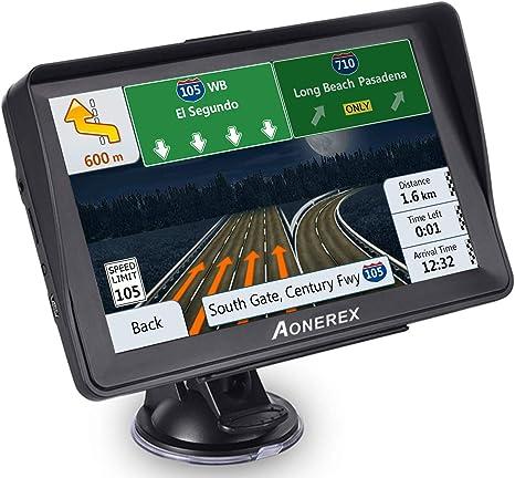 Amazon.com: Aonerex GPS Navegación para coche, 7pulgadas ...