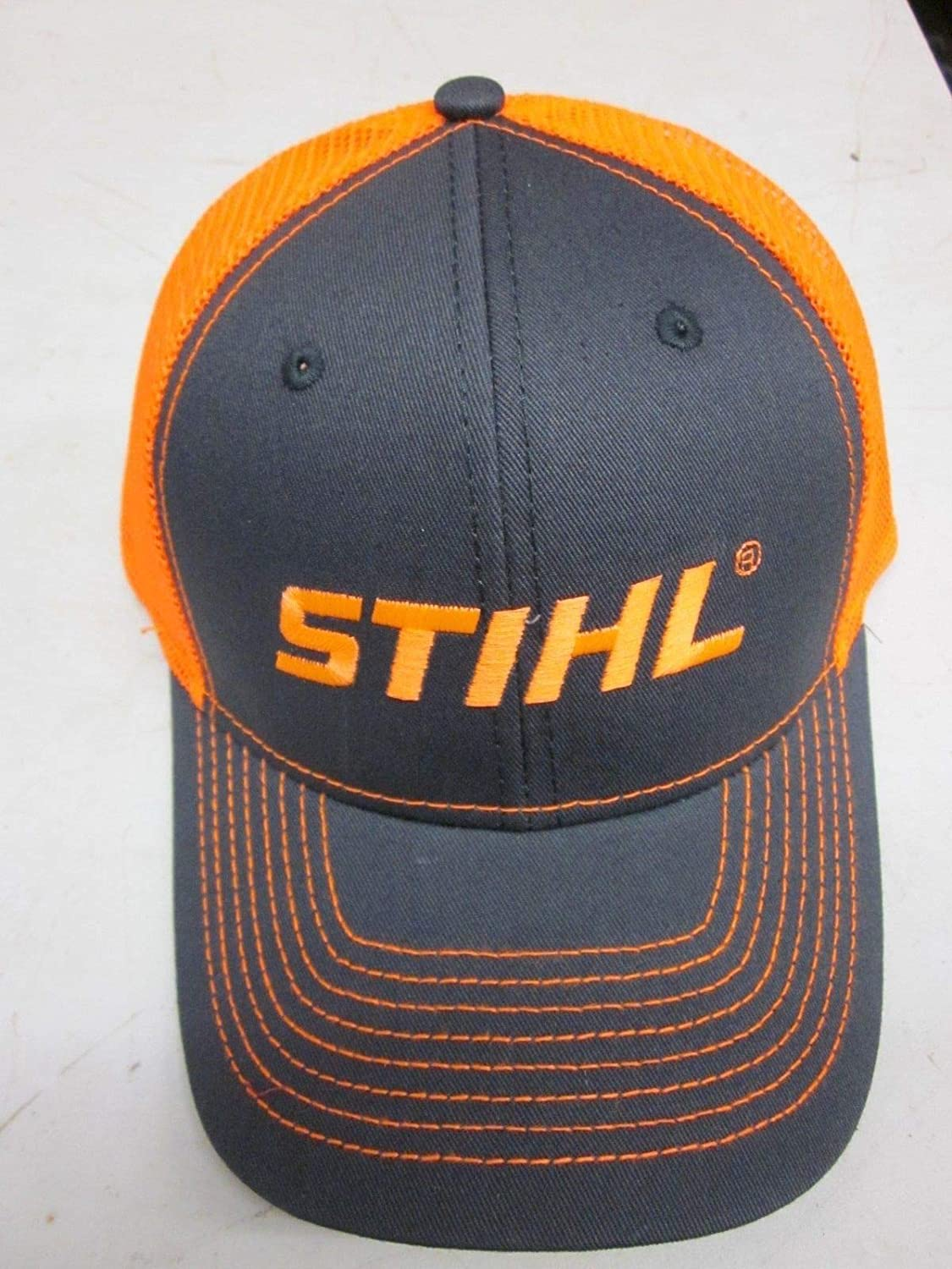 20ae0b66d Amazon.com: Stihl Officially Licensed Chainsaw Neon Mesh Back Cap ...