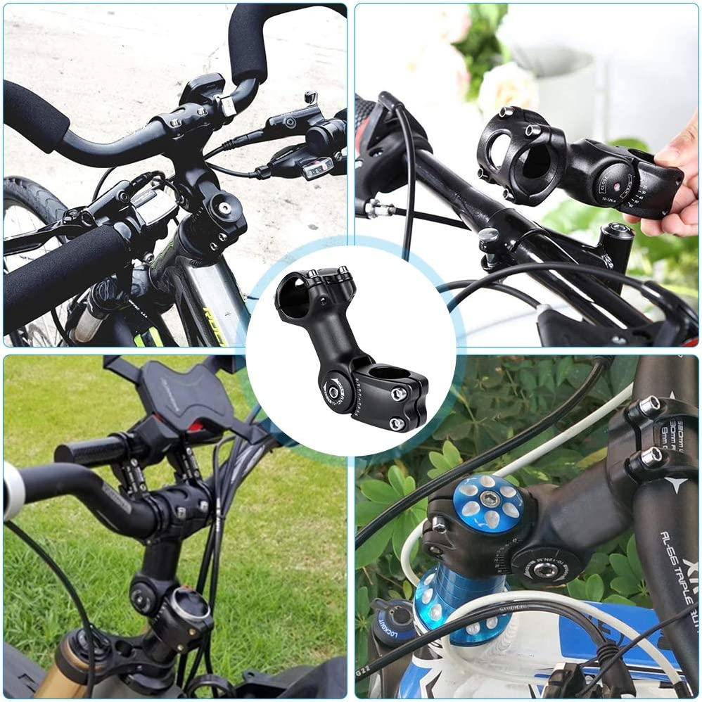 con chiave a brugola regolabile 1-1//8 31,8 mm Jooheli asta della forcella MTB Prolunga per manubrio della bicicletta