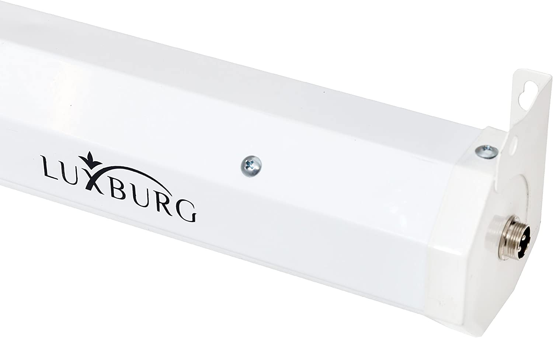 Luxburg Full HD 3D Pantalla de proyecci/ón motorizada el/éctrica con Mando a Distancia