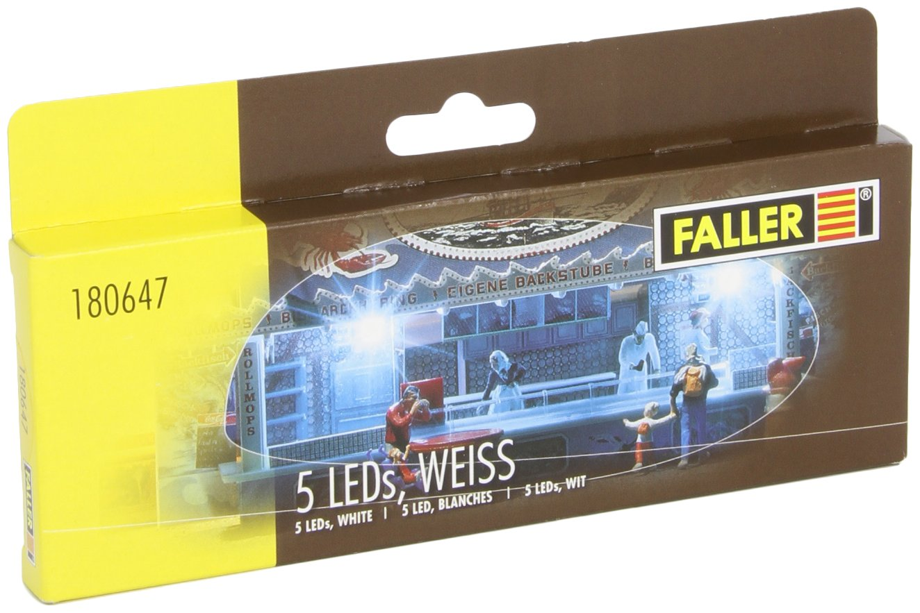 Faller 180647 LEDs 5/Scenery and Accessories