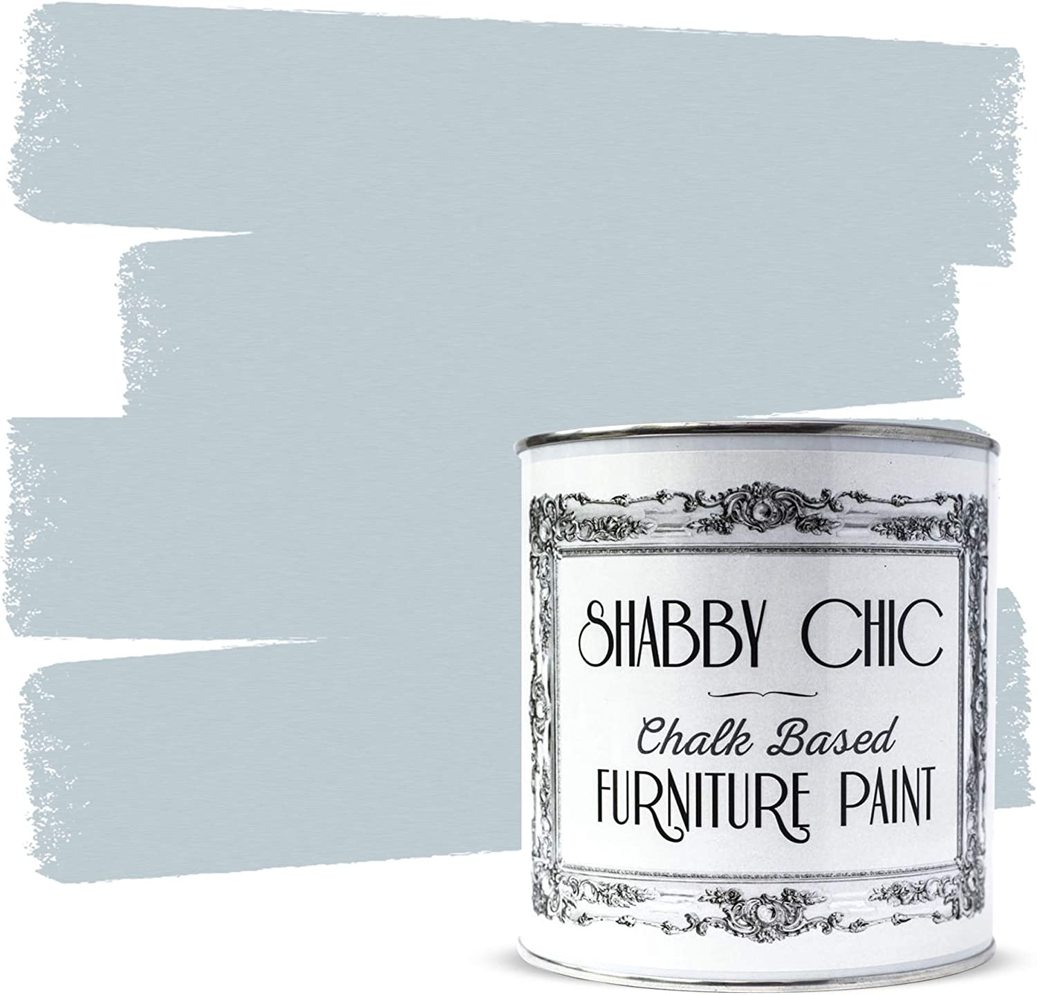 Shabby Chic Furniture Chalk Paint: Chalk Based Furniture and Craft Paint for Home Decor, DIY Projects, Wood Furniture - Chalked Interior Paints with Rustic Matte Finish - 250ml - Caesious