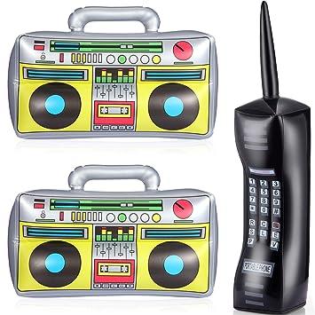 Amazon.com: 3 piezas inflables de teléfono celular teléfono ...