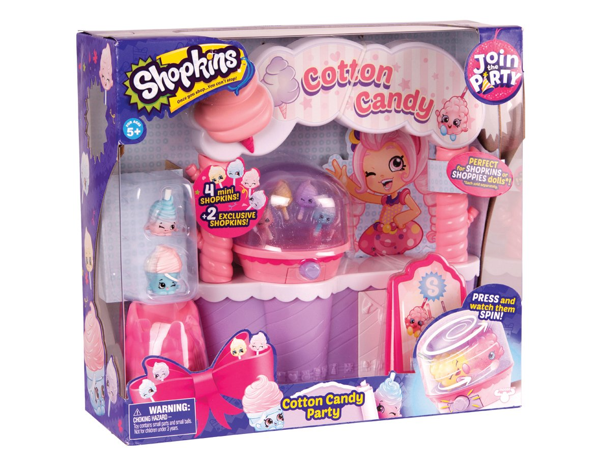 Shopkins cotton candy party barbe papa 6 mini personnages d cor ebay - Barbe a papa personnage ...