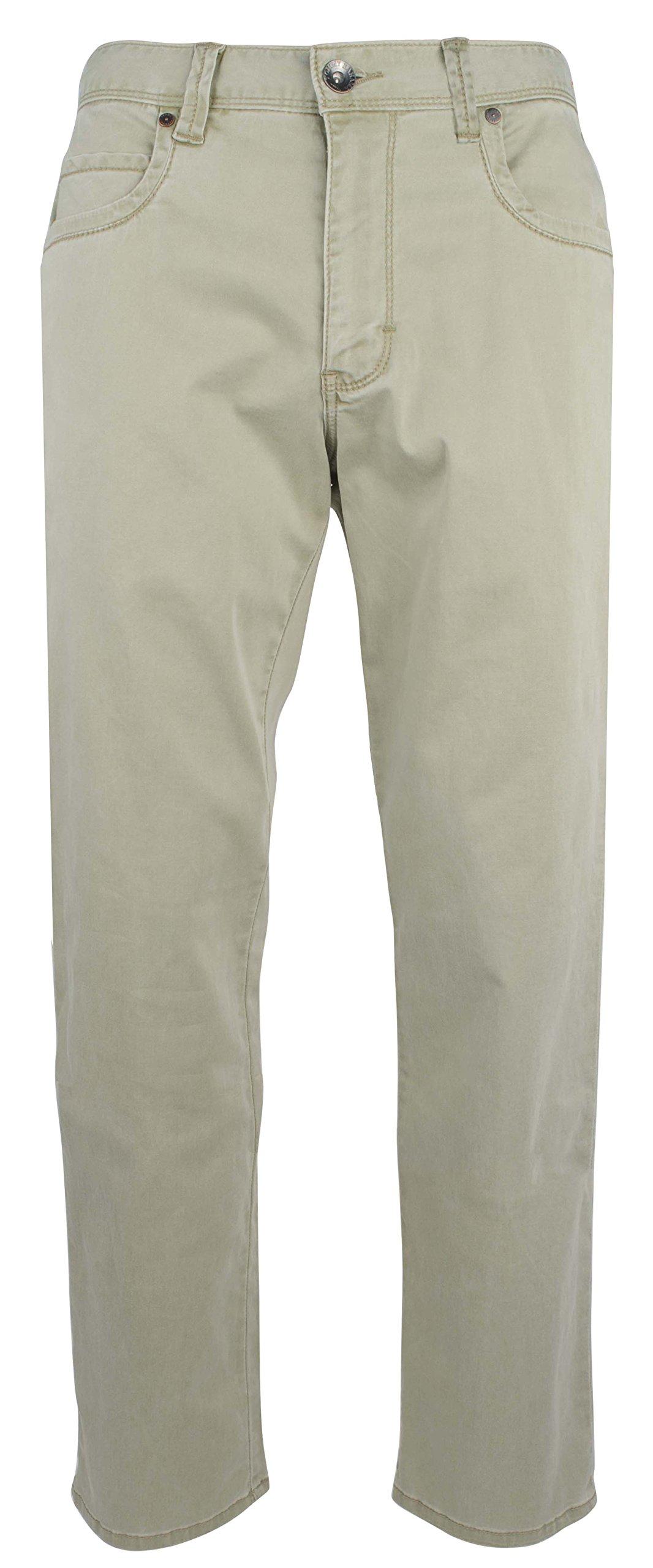 Tommy Bahama Men's Boracay Five Pocket Design Chino Pants (33WX34L, Khaki)