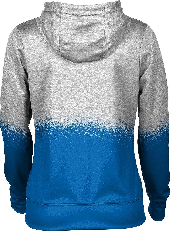 ProSphere DePaul University Girls Pullover Hoodie School Spirit Sweatshirt Spray Over