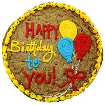 Triolos Bakery Chocolate Chip Cookie Birthday Cake