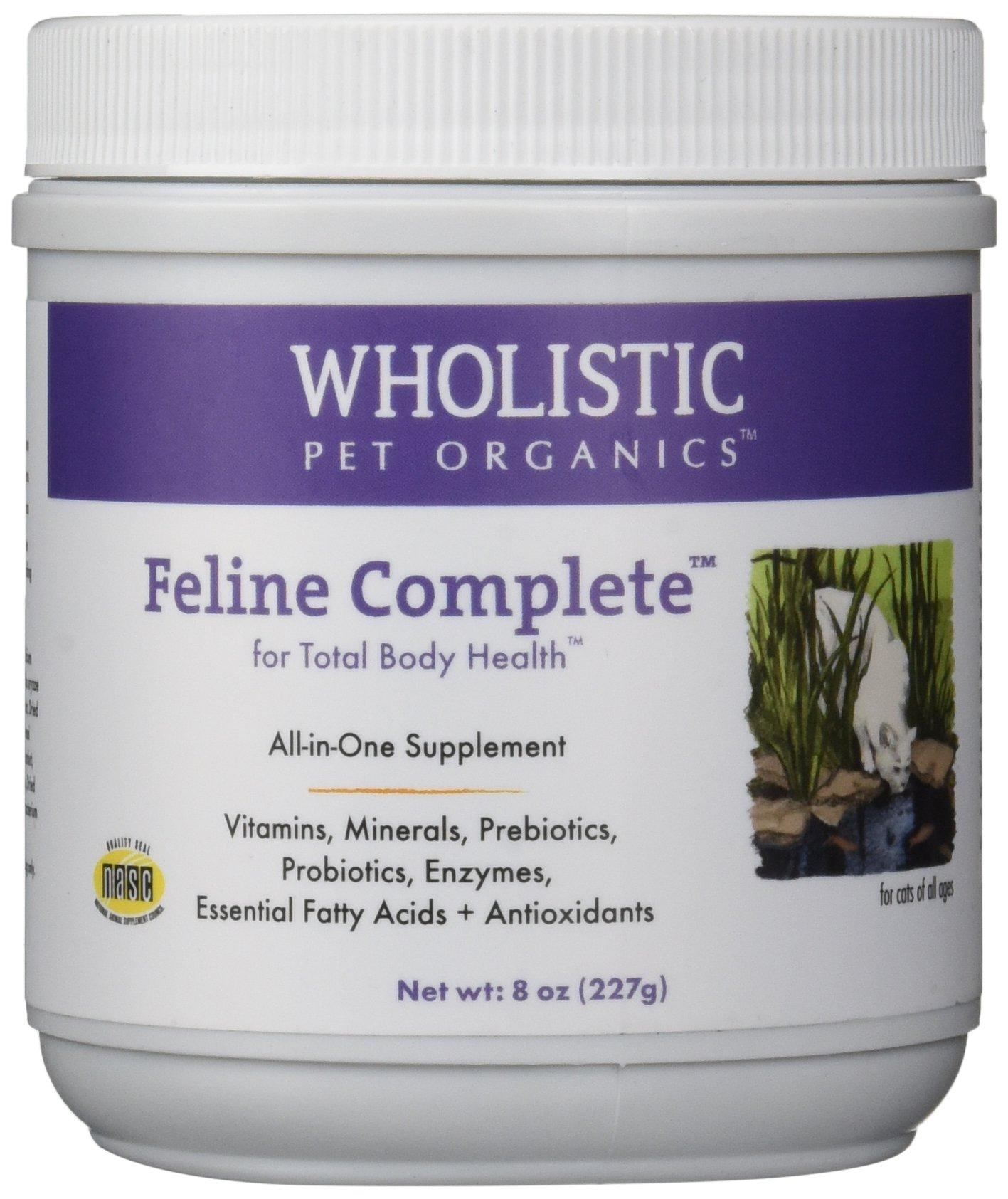 Wholistic Pet Organics Feline Complete Multivitamin, 8 oz by Wholistic Pet Organics