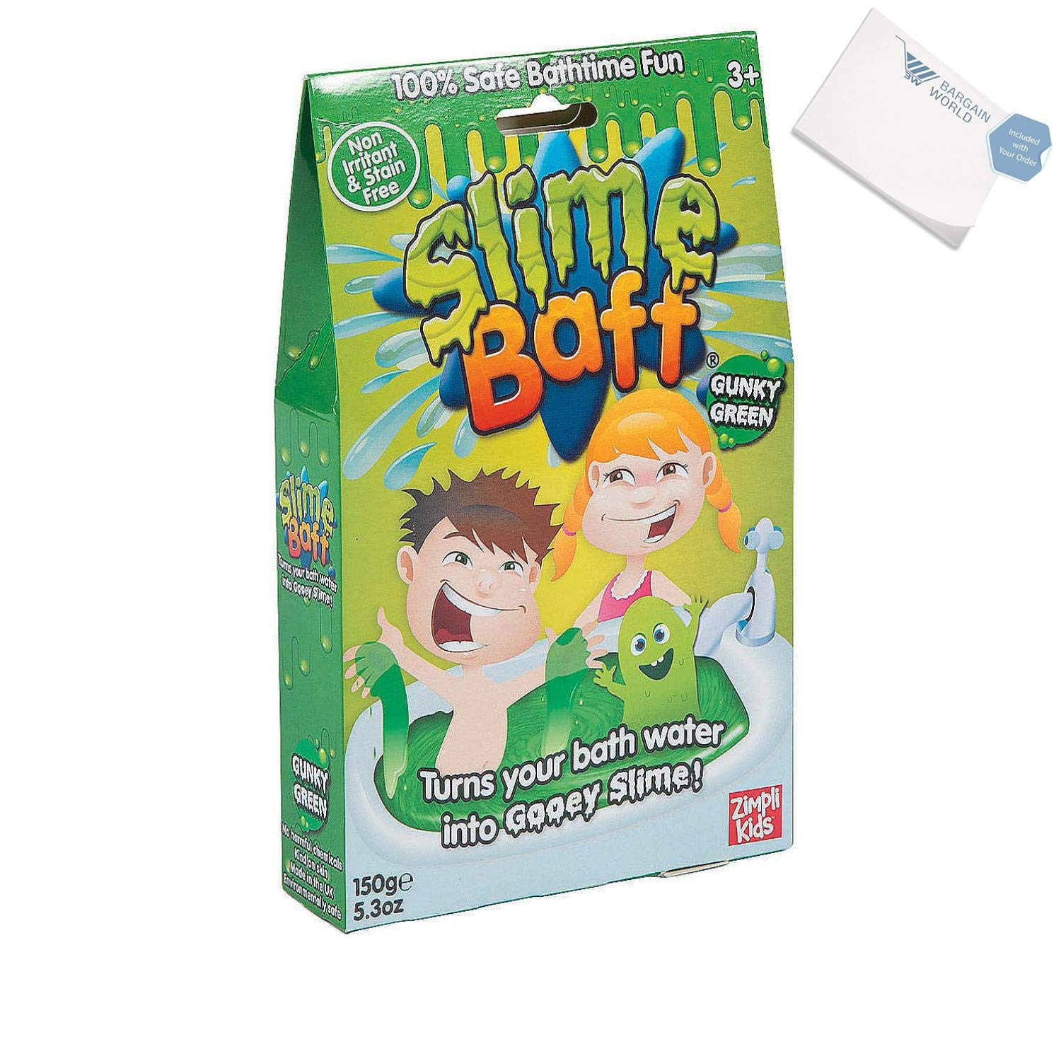 Bargain World Slime Baff (With Sticky Notes)