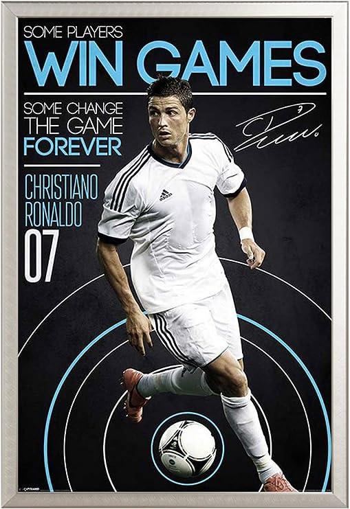 Empire Interactive De balón de fútbol póster de Cristiano Ronaldo ...