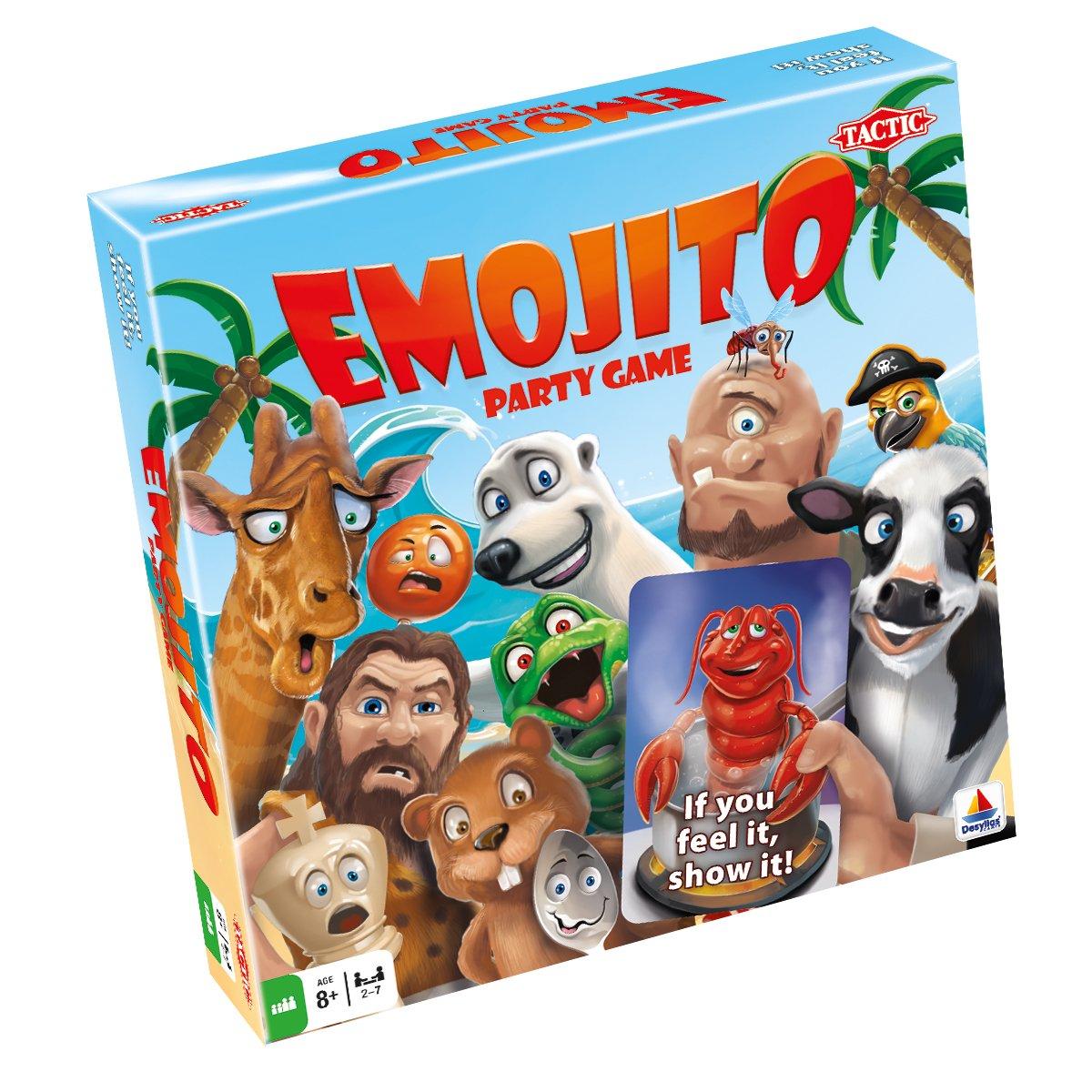 Tactic 54507   Emojito Board Game   Children & Family Board Game