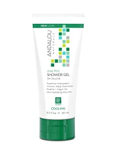 Andalou Naturals Body Cooling Shower Gel, Aloe Mint - 8.5 Oz, 8.50 Oz