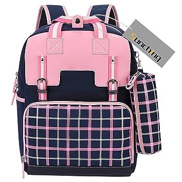 School Bags for Teenage Girls Sunching Princess Style Waterproof Unisex School  Backpack for Girls  Amazon.co.uk  Baby ea03c57921