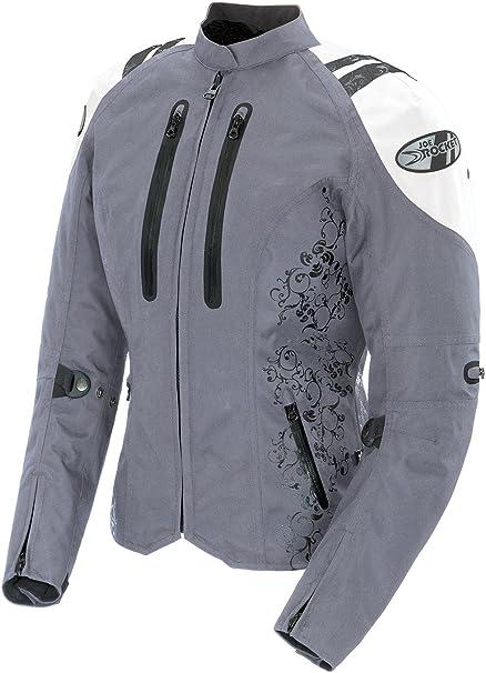 Joe Rocket Women/'s Atomic 5.0 Jacket White//Silver
