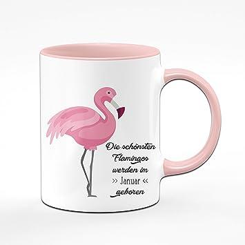 Tassenbrennerei Flamingo Tasse Mit Spruch Die Schonsten Flamingos