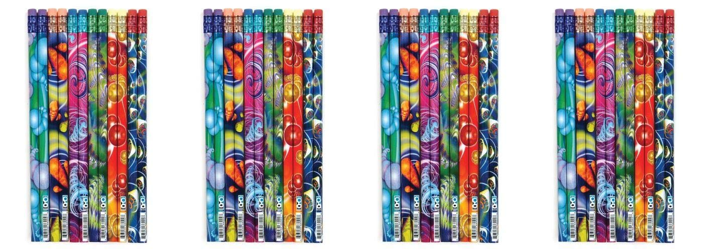 Geddes Cyber Cyclone Pencil Assortment - Set of 144 (Fоur Paсk, Cyber Cyclone Pencil Assortment)