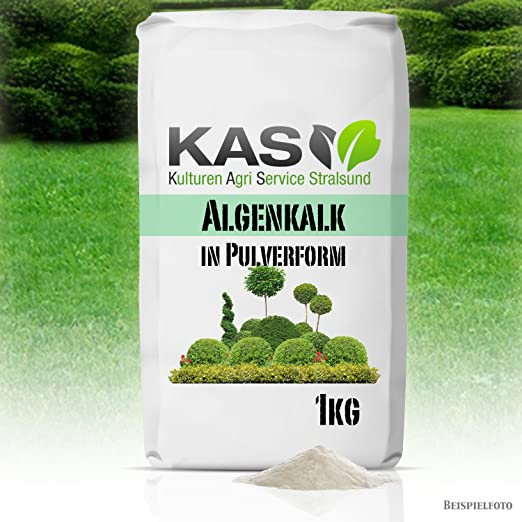 Kas algas en forma de polvo 1 kg: Amazon.es: Jardín