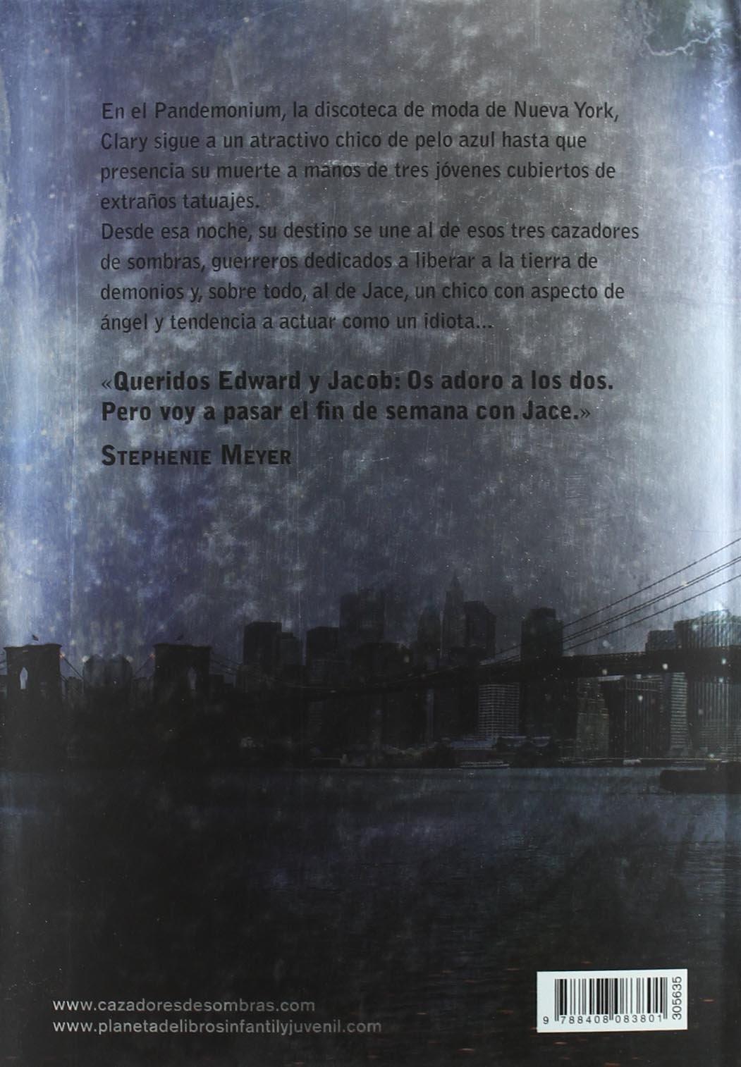 Cazadores de sombras 1. Ciudad de hueso: Cassandra Clare: 9788408083801: Amazon.com: Books