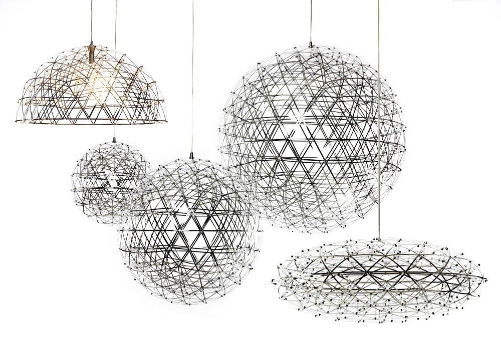 Kiven® Sparking Stars Lights Modern Style Globle Shade Stainless Steel Design Led Pendant Light Hanging Lamp Fixture Suitable for Restaurant,bedroom (Warm white 3000K) by Kiven (Image #4)