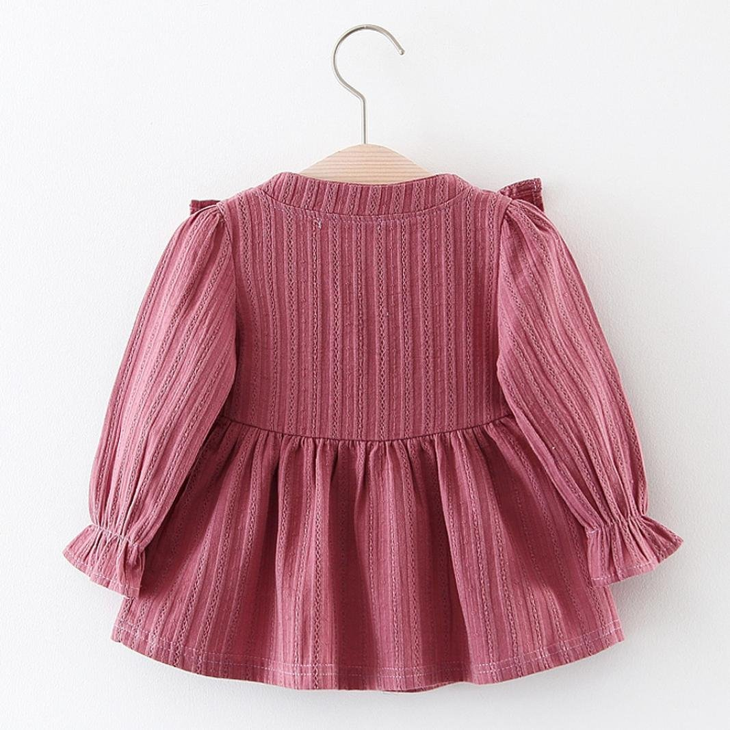 2bffc914def8 Amazon.com  Esharing Trendy Baby Girl Outfits