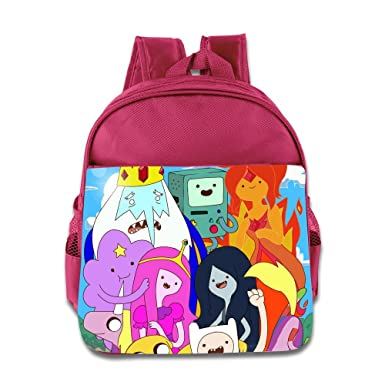 Niños mochila escolar, hora de aventuras dibujos animados bebé niños niñas mochila escolar: Amazon.es: Hogar