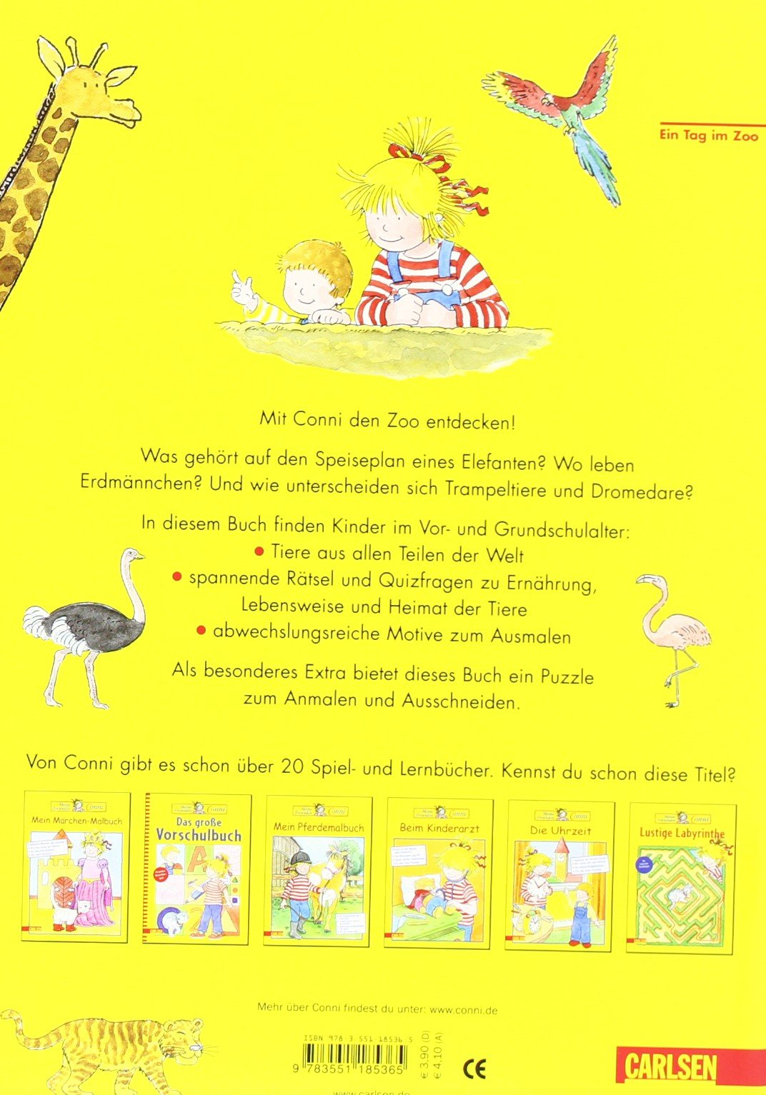 Ein Tag Im Zoo Conni Gelbe Reihe Amazonde Hanna Sörensen