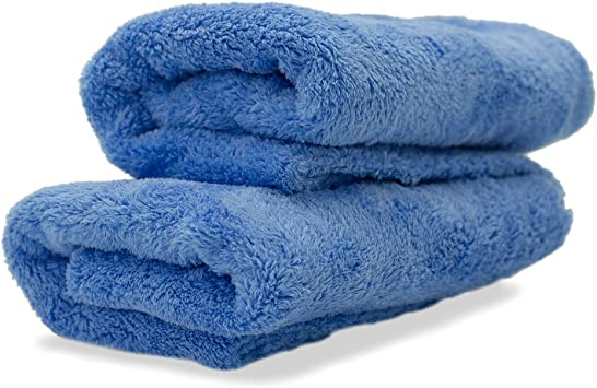 Adams Borderless Grey Edgeless Microfiber Towel 1 Pack Delicate Touch The Most Delicate Surfaces Premium Quality 480gsm 16 x 16 inches Plush Microfiber