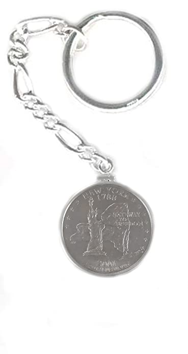 Amazon.com: Plata de ley State Quarter Coin Edge Moneda ...
