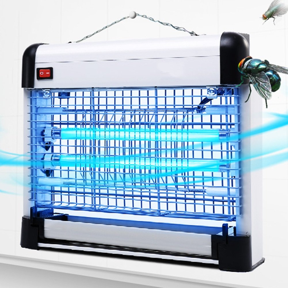 PENGFEI Lámpara Del Mosquito Ammazza Zanzare Lampada Repellente Parassiti Elettro-shock Montaggio A Parete Pavimento In Piedi Doppio Uso Supermercato Cucina Camera Da Letto, 4 Dimensioni
