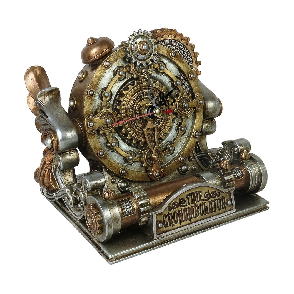 Alchemy Gothic: Time Chronambulator Desk Clock Alchemy England V26