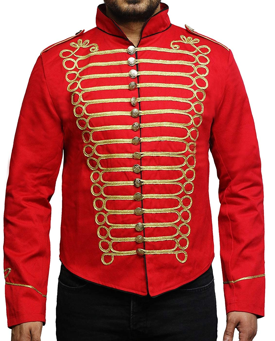 DARK REBELS Women Hussar Napoleonic Military Parade Jacket
