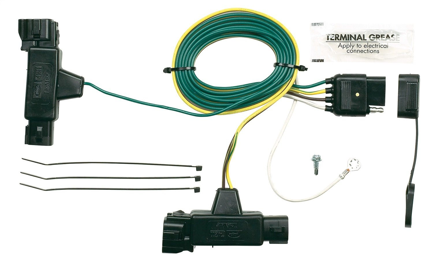 Hopkins 42115 Plug In Simple Vehicle Wiring Kit Automotive 2002 Dodge Dakota Brake Light Diagram